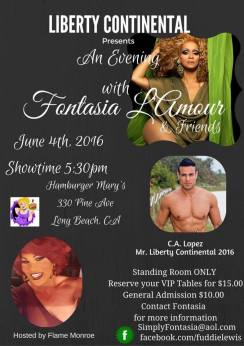 Show Ad | Hamburger Mary's (Long Beach, California) | 6/4/2016