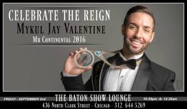 Show Ad | The Baton Show Lounge (Chicago, Illinois) | 9/2/2016