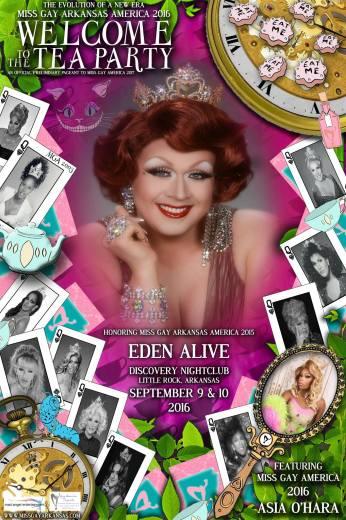 Show Ad   Miss Gay Arkansas America   Discovery Nightclub (Little Rock, Arkansas)   9/9-9/10/2016