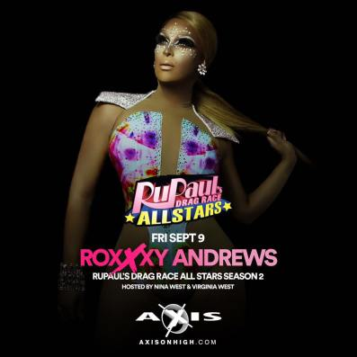 Show Ad | Axis Night Club (Columbus, Ohio) | 9/9/2016