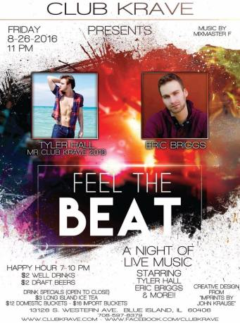 Show Ad | Club Krave (Blue Island, Illinois) | 8/26/2016