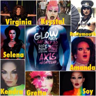Show Ad | Glow Party | Axis Night Club (Columbus, Ohio) | 7/30/2016