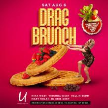 Show Ad | Drag Brunch | Union Cafe (Columbus, Ohio) | 8/6/2016