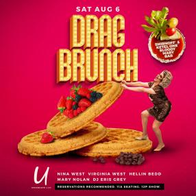 Show Ad | Drag Brunch | Union Cafe (Columbus, Ohio) | 8/6/2016