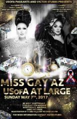 Show Ad   Miss Gay Arizona USofA at Large   BS West (Scottsdale, Arizona)   5/7/2017