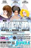 Show Ad | Miss Atlanta Grand Diva, Show Girl and Rising Diva | Jungle (Atlanta, Georgia) | 10/19/2014