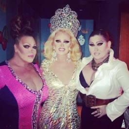 Dena Cass, Dana Douglas and Natasha Richards