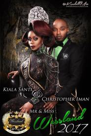 Kia'la Nicole Santi and Christopher Iman - Photo by Kendoll Mix