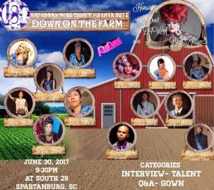 Show Ad | National Miss Don't H8 Diva | South 29 (Spartanburg, South Carolina) | 6/30/2017