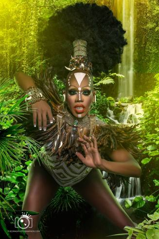 Elishaly D'Witshes - Photo by The Drag Photographer