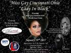Show Ad | Miss Gay Cincinnati Ohio | The Cabaret (Cincinnati, Ohio) | 1/19/2017
