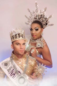 Aries M. Kelly and Alexis Mateo