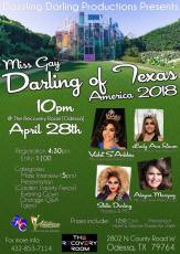 Show Ad | Miss Gay Darling of Texas America | The Recovery Room (Odessa, Texas) | 4/28/2018