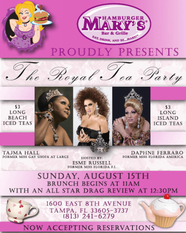 Show Ad | Hamburger Mary's (Tampa, Florida) | 8/15/2010