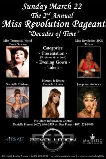 Show Ad   Revolution Nightclub (Orlando, Florida)   3/22/2009