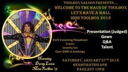 Show Ad | Toolbox Saloon (Columbus, Ohio) | 1/27/2018