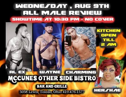Show Ad | McCunes Other Side Bistro (Toledo, Ohio) | 8/9/2017