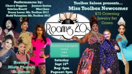 Show Ad | Miss Toolbox Newcomer | Toolbox Saloon (Columbus, Ohio) | 9/16/2017