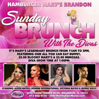 Show Ad | Hamburger Mary's (Brandon, Florida) | 1/21/2018