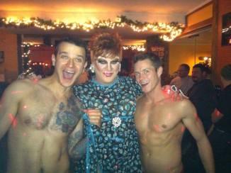 Johnny Dangerously, Hellin Bedd and Evan Evans