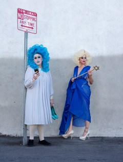Jackie Beat and Sherry Vine - Photo by Magnus Hastings