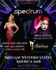 Show Ad   Miss Gay Western States America   Spectrum (Tempe, Arizona)   4/22/2018