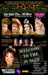 Show Ad | Miss Gay Galveston America | Third Coast Downtown Bar (Galveston, Texas) | 6/25/2016