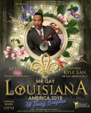 Show Ad | Mr. Gay Louisiana America | Pink (Monroe, Louisiana) | 4/7/2018