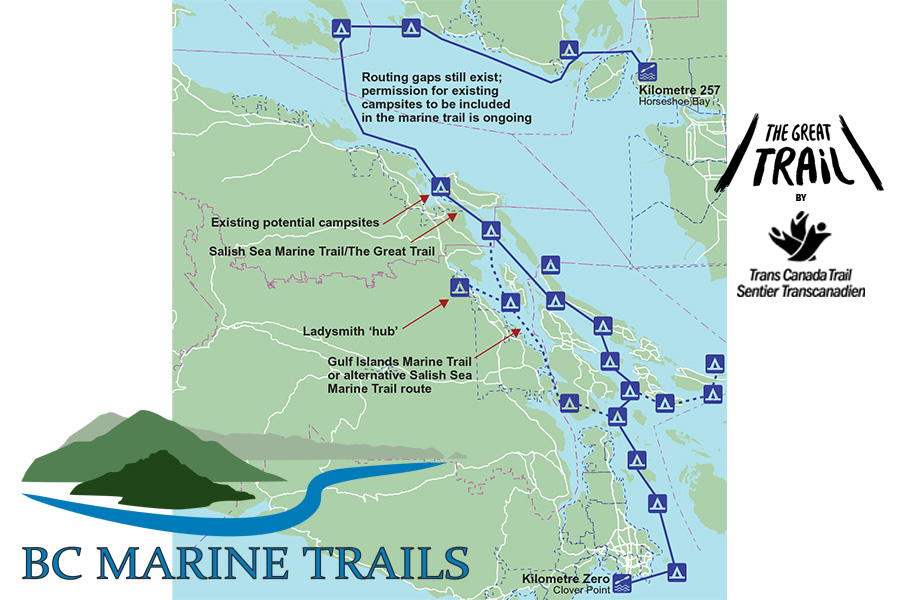 Announcing the Salish Sea Marine Trail