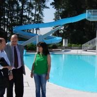 As piscinas de Monterrei abren a tempada sen subida de prezos
