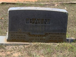 Benjamin Noel and Margaret Price Bain