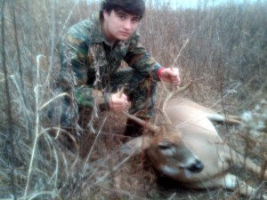 Tucker's First Deer