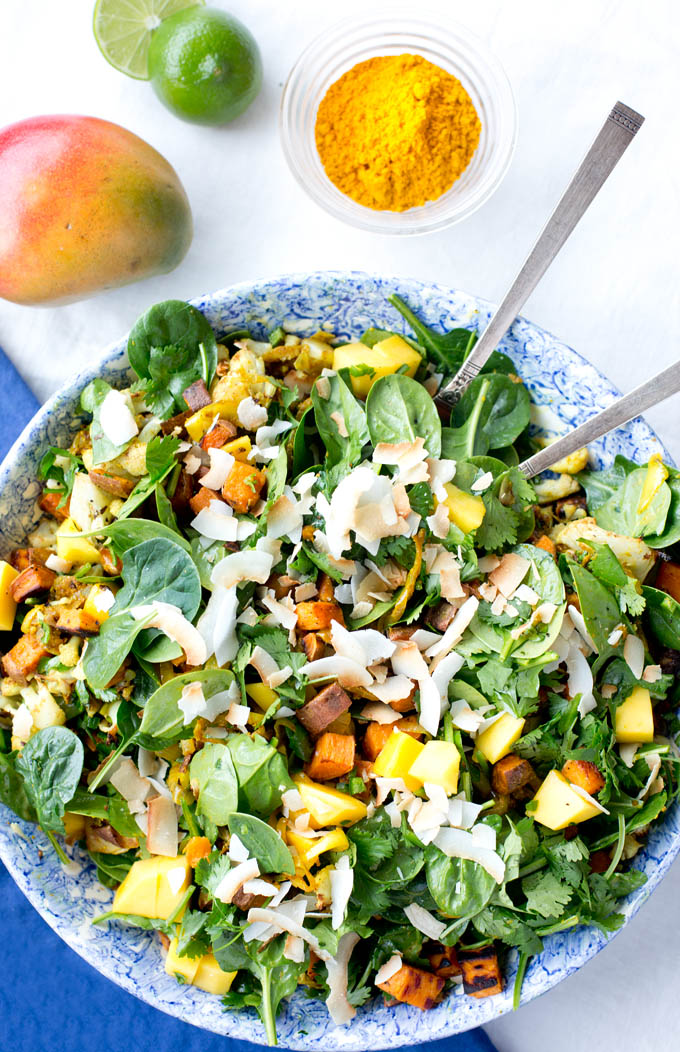 Paleo Curried Chickpeas and Spinach