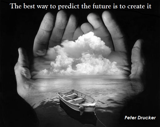 The Best Way To Predict The Future Is To Create It | Otrazhenie