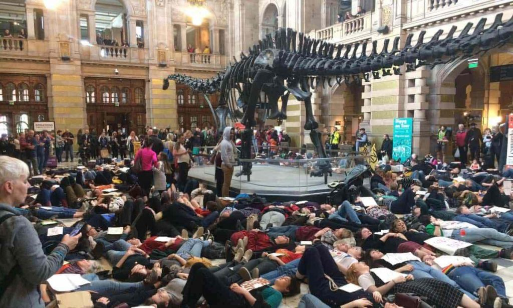Toddler Mattress Vs Baby Mattress Extinction Rebellion Glasgow Dinosaur Art Gallery 1024x614 Jpg