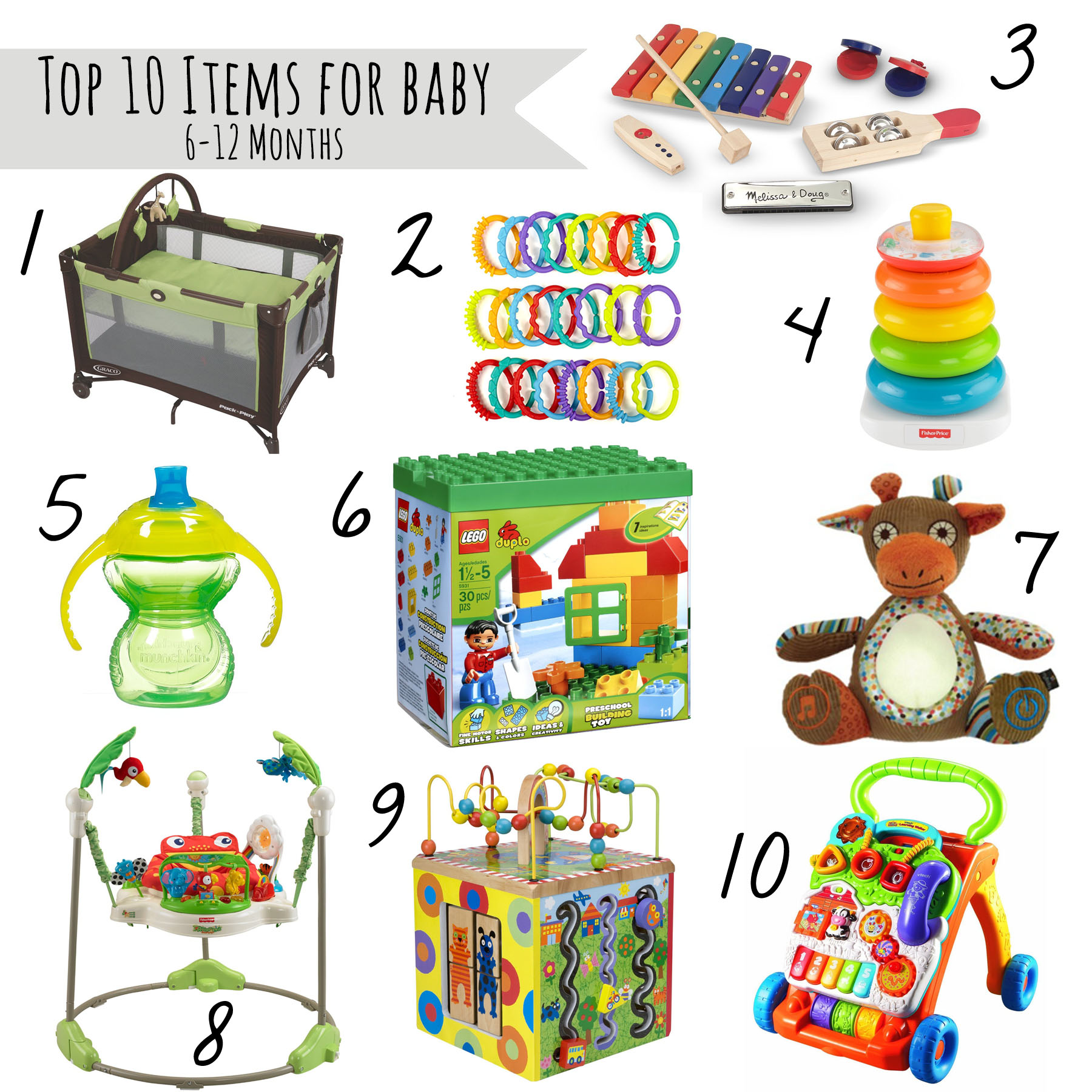 6 Month Old Baby Toys Top 10 Must Haves For Babies 6 12 Month Old Our