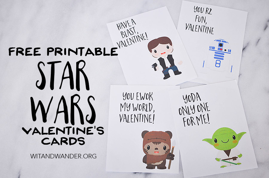 Star Wars Valentines Day Cards \u2013 Part 2