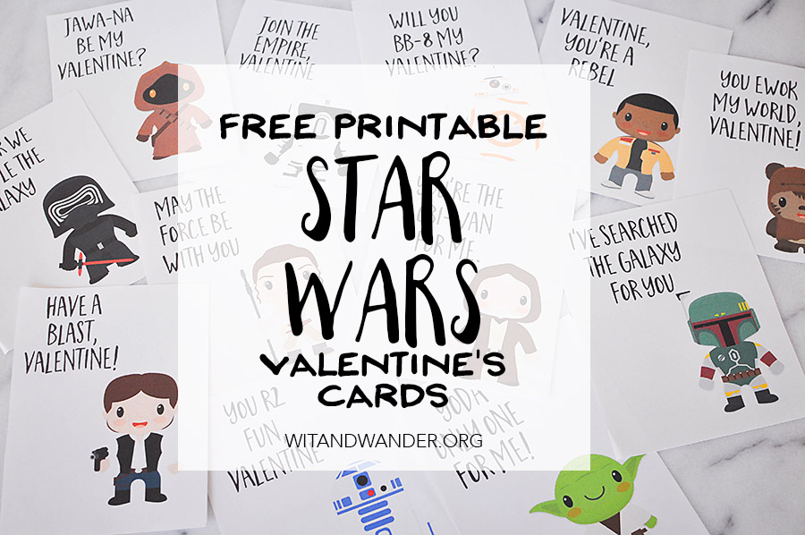 Star Wars Valentines Day Cards \u2013 Part 2