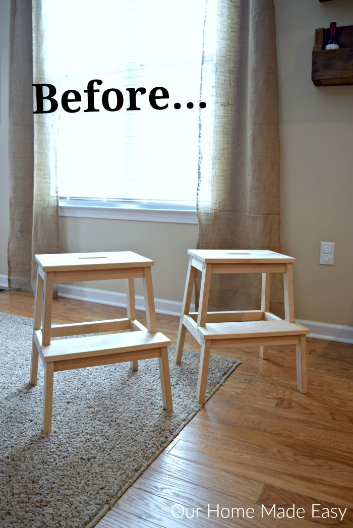 Dining Room Lighting Ikea Easy Ikea Bekvam Stool Hack • Our Home Made Easy