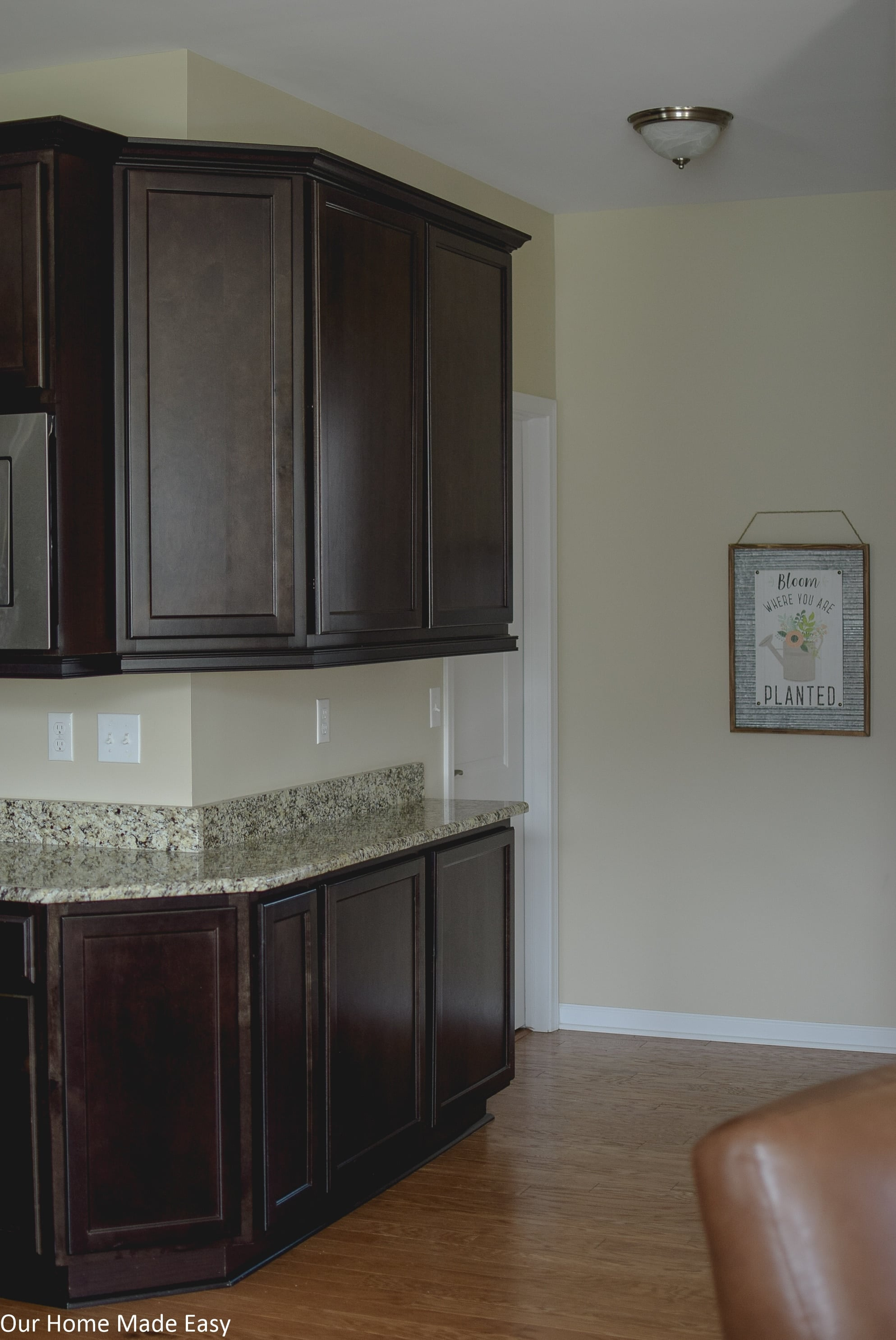 How To Clean The Kitchen Cabinets The Simplest Way To Clean Kitchen Cabinets Our Home Made