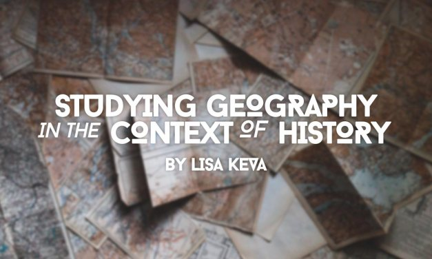 Studying Geography in the Context of History