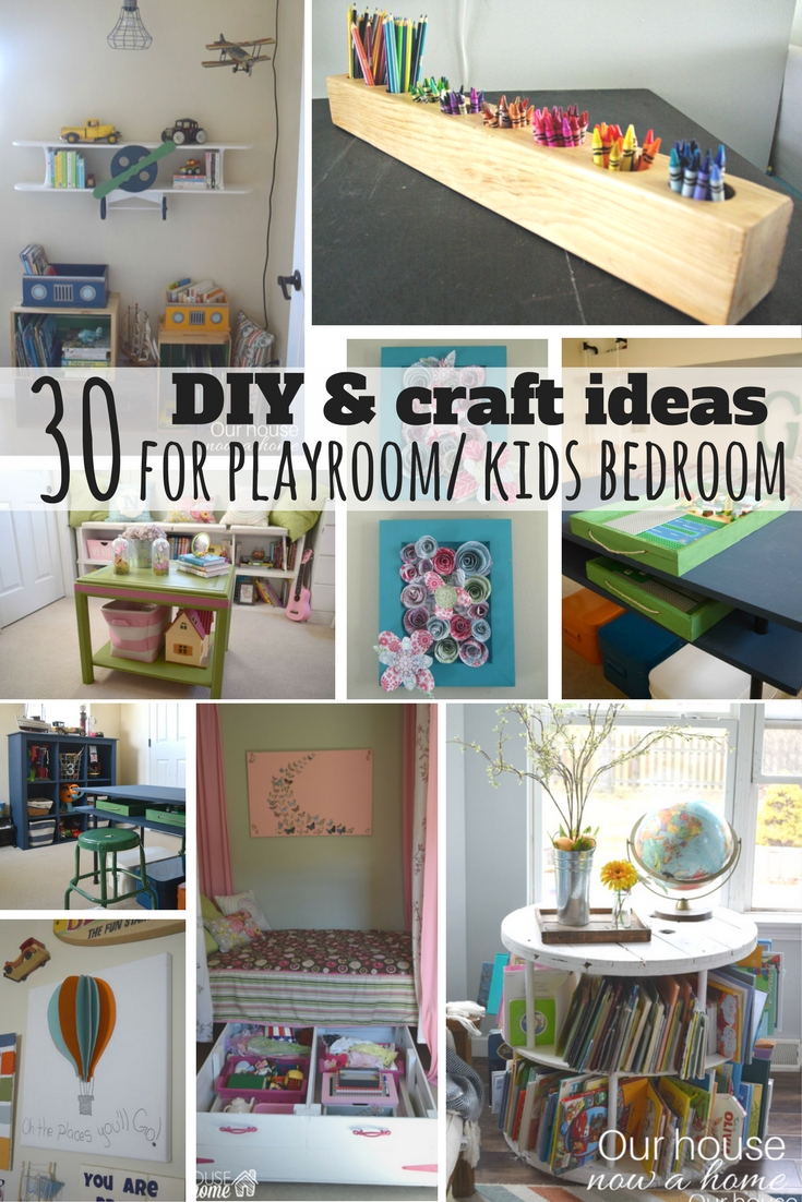 Fun Playroom Ideas 30 Diy And Craft Decorating Ideas For A Playroom Or Kid S Bedroom