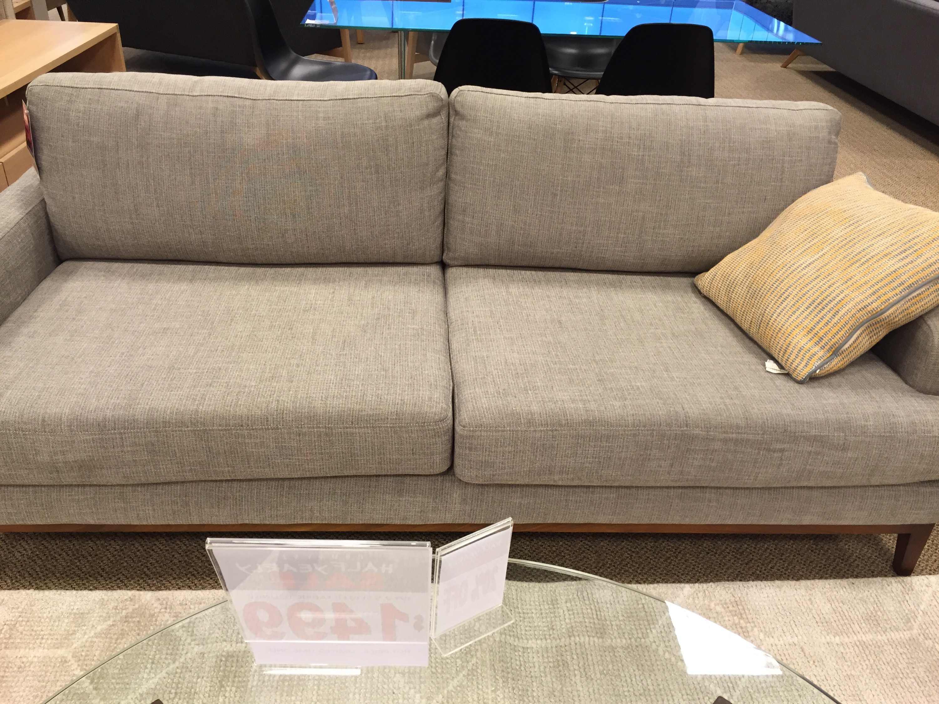 Domayne Furniture Fabric Lounges Shopping Time Our Metricon Hudson
