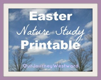 Freebie!  Nature Study for Easter