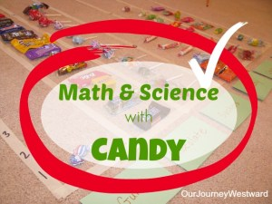 Math and Science Lessons using Candy | Our Journey Westward