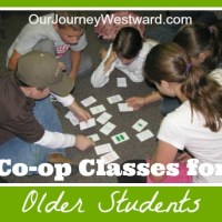 Co-op Class Ideas for Older Students
