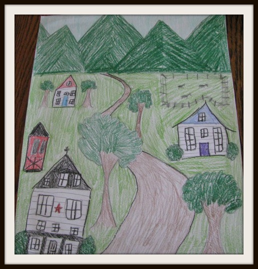 Grandma Moses Coloring Pages of Grandma Moses' Time