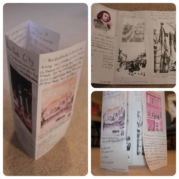 13 colonies travel brochure