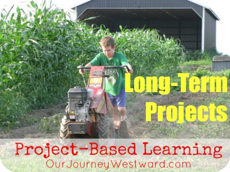 Long-Term Project Ideas for Project-Based Learning @CindyWest (Our Journey Westward)