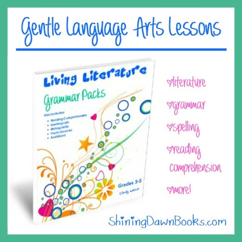 Living Literature and Grammar Packets give your 3rd-5th grader gentle, efficient and thorough language arts lessons.